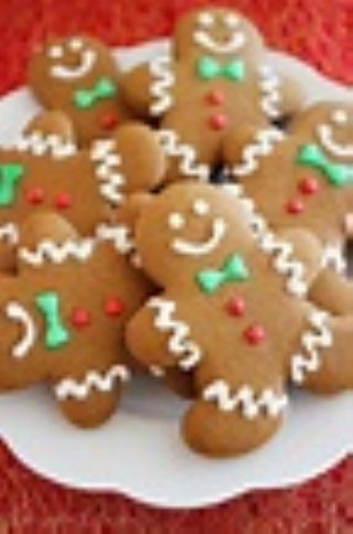 Martha's Gingerbread Cookies image