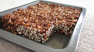 Honey Puffed Wheat Squares image