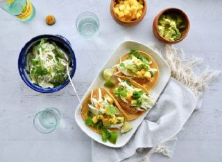 Baked Coconut-Crusted Fish Tacos image