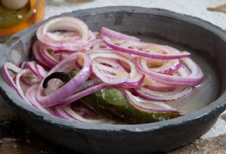 Pickled Red Onions a la Yucateca image