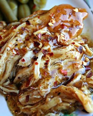Crock Pot Sweet Garlic Chicken image
