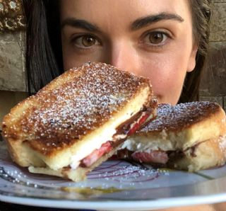 Sweet Grilled Cheese (Katie Lee) image