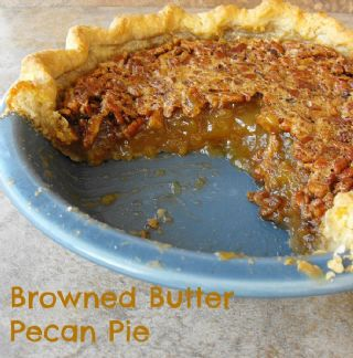 Browned Butter Maple Pecan Pie image