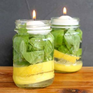 Mosquito Repellent Candles image
