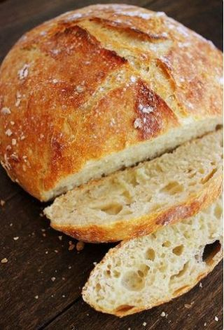 No-Knead Crusty Artisan Bread image