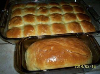 Homemade King Hawaiian Rolls & Loaf Bread - Emily Cummings Russell image
