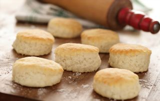 Classic 3 Ingredient Southern Biscuits (Christy Jordan) image