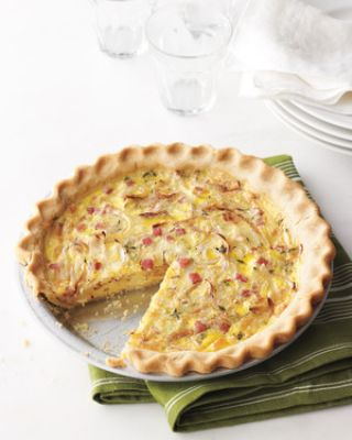 Ham-and-Swiss Quiche image