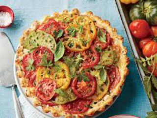Heirloom Tomato Pie image