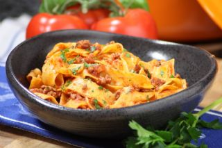 Pappardelle Bolognese image
