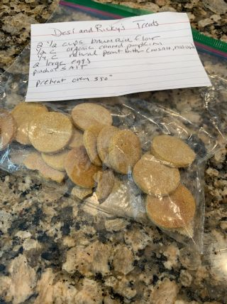 Cindy Duncans Desi and Ricky Treats (Dog Biscuits) image