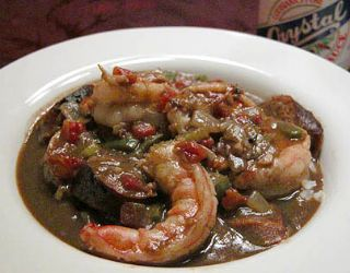Louisiana Chicken, Sausage and Seafood Gumbo image