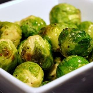Cooked Brussel Sprouts image