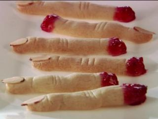 Witch Finger Cookies image