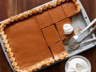 Pumpkin Pie in a Sheet Pan image