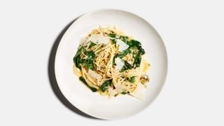 Spaghetti with Ramps image