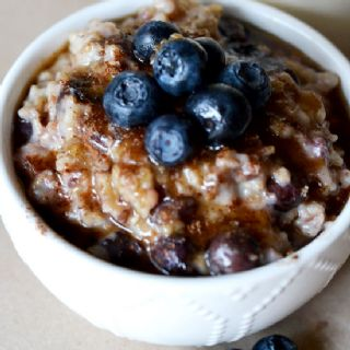 Blueberry Muffin Overnight Oatmeal image