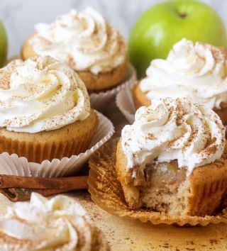 Apple Pie Cupcakes image