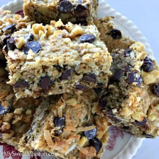 Loaded Oatmeal Cookie Bars image