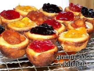 Mini Fruit Filled Cheesecake Bites image