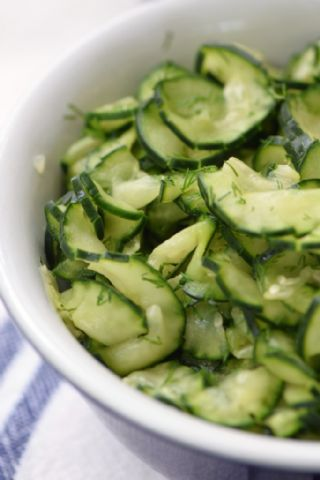 Quick Pickled Cucumbers image