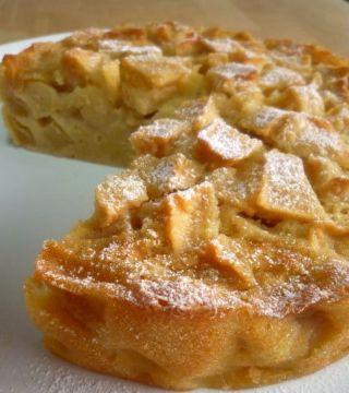 Apple Custard Tea Cake image