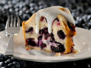 Blueberry Bounty Cake image