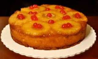 Fruity upside down cake image