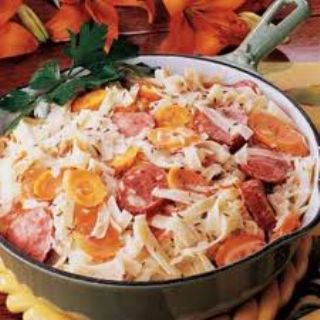 Bavarian Smoked Sausage Supper image