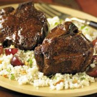 Glazed Moroccan Lamb w/ Cous Cous image