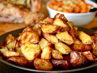 Crispy Cubed Potatoes image