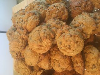 Pumpkin oatmeal chocolate chip cookies image