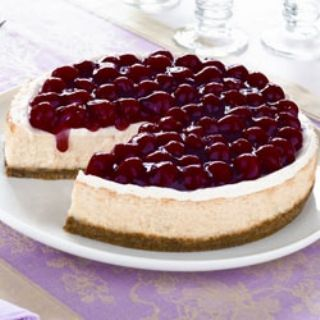 Creamy Baked Cheesecake image