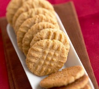 Old Fashioned Peanut Butter Cookies image
