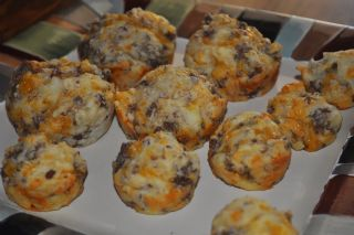 Sausage and Cheese Muffins image