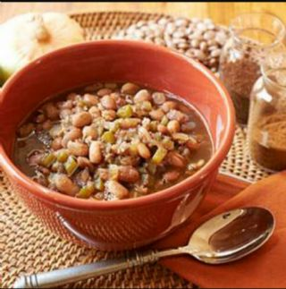 Estela's Beans with bacon and Jalapeno image