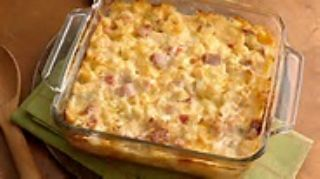 Potato Casserole with Ham and Cheese image