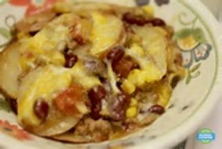 Cowboy Potato Casserole in a Slow Cooker image