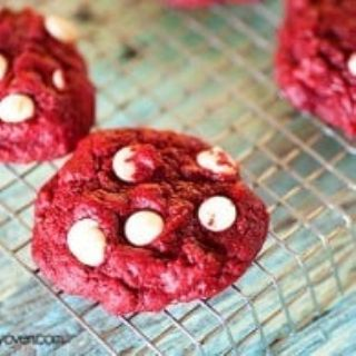Red Velvet Cake Cookies image
