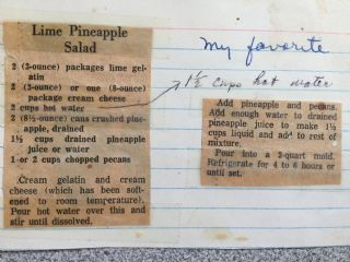 Granny's Lime Pineapple Salad image