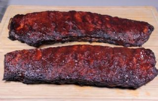 ST. LOUIS STYLE BARBEQUE RIBS image
