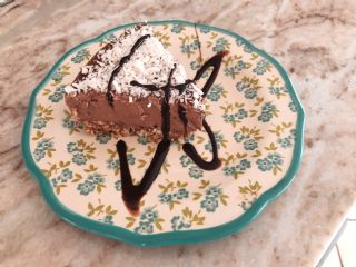 Raw dilly licious choclate cheese cake image