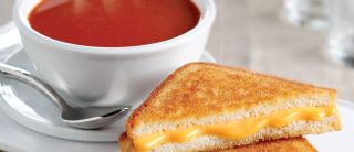 Tomato Soup & Grilled Cheese image