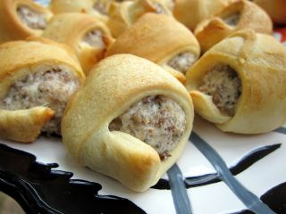 Sausage Cream Cheese Crescents image