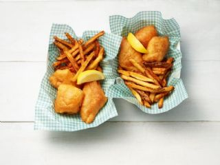 Beer-Battered Fish and Chips image