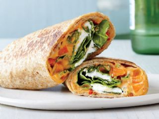 Cheese Vegetable Wrap image