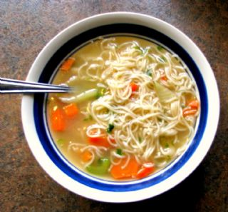 QUICK  and  HEALTHY  CHICKEN  SOUP image