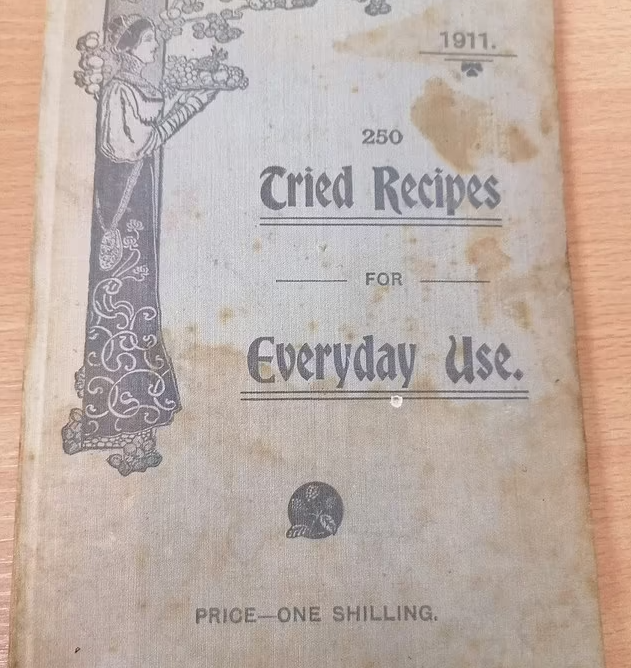 1911 Cookbook Might Be One Of The First Family Cookbooks